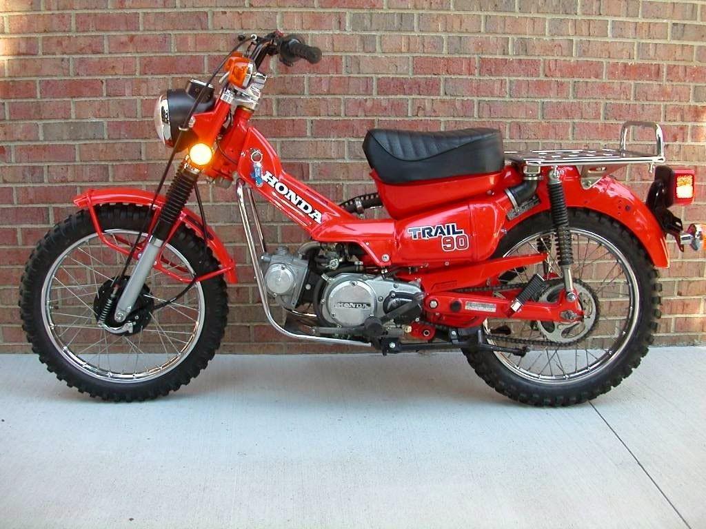 Vintage Honda Ct90 Trail90 Motorcycle Bike Family Heirloom Wiring