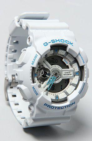 3ce2872ce3f1 G-SHOCK The GA110SN Watch in White   Karmaloop.com - Global Concrete Culture