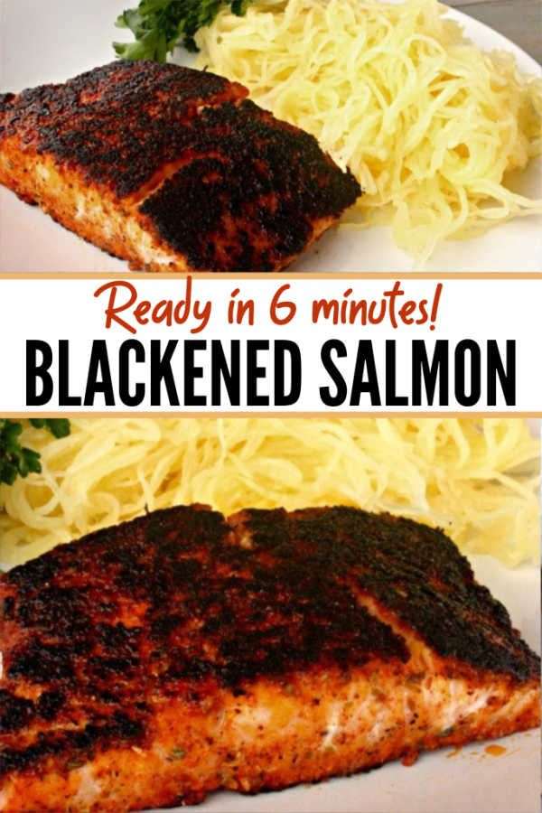 THE BEST BLACKENED SALMON RECIPE images