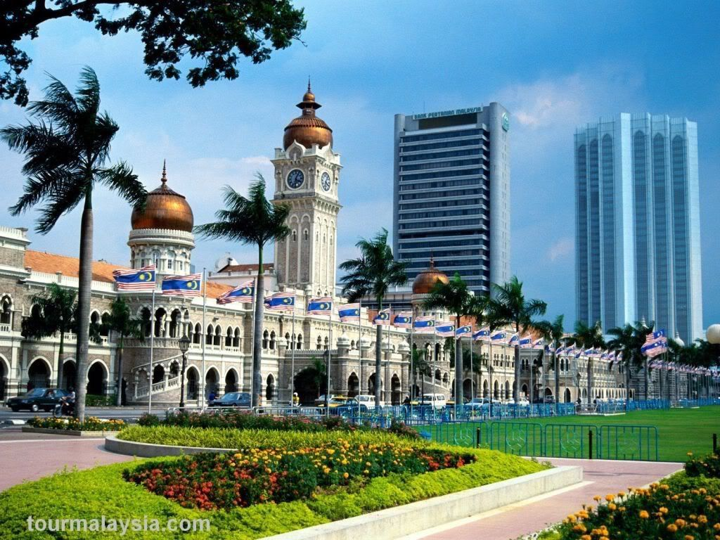 Sultan Abdul Samad Building now the High Court of Malaysia.