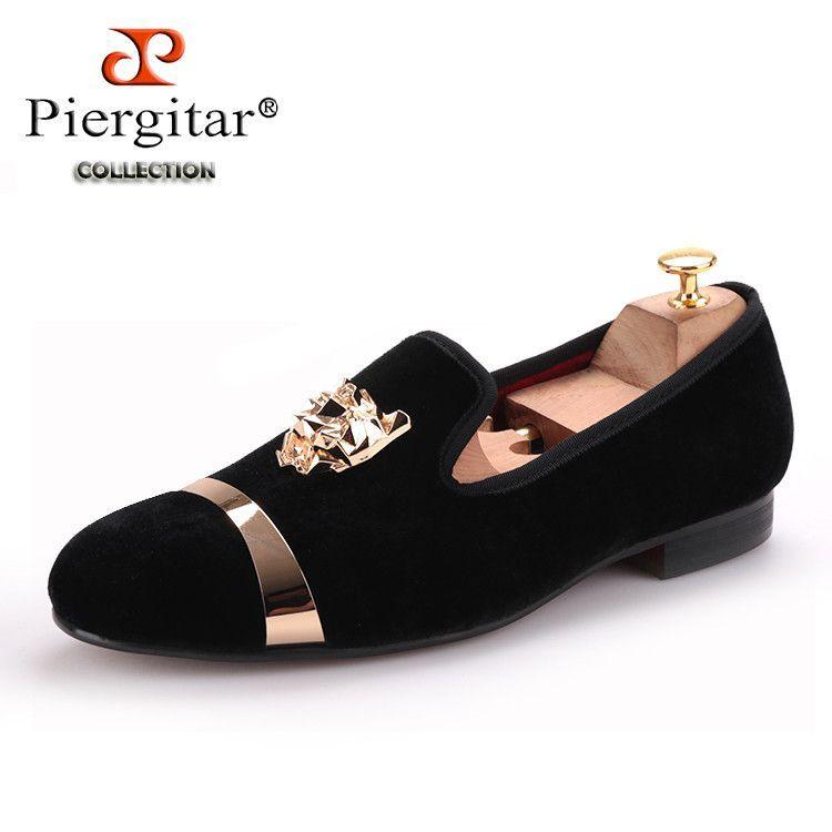 PIERGITAR Tiger Style Loafers. PIERGITAR Tiger Style Loafers Velvet Shoes 7de5adb2fc63
