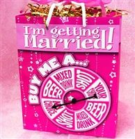 I'm Getting Married Spinner Gift Bag