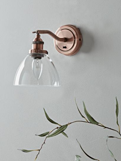 Indoor Wall Lights Industrial Brass Glass Copper Wall Pendant Lamps Uk In 2020 Glass Wall Lights Wall Lights Bedroom Copper Wall Light