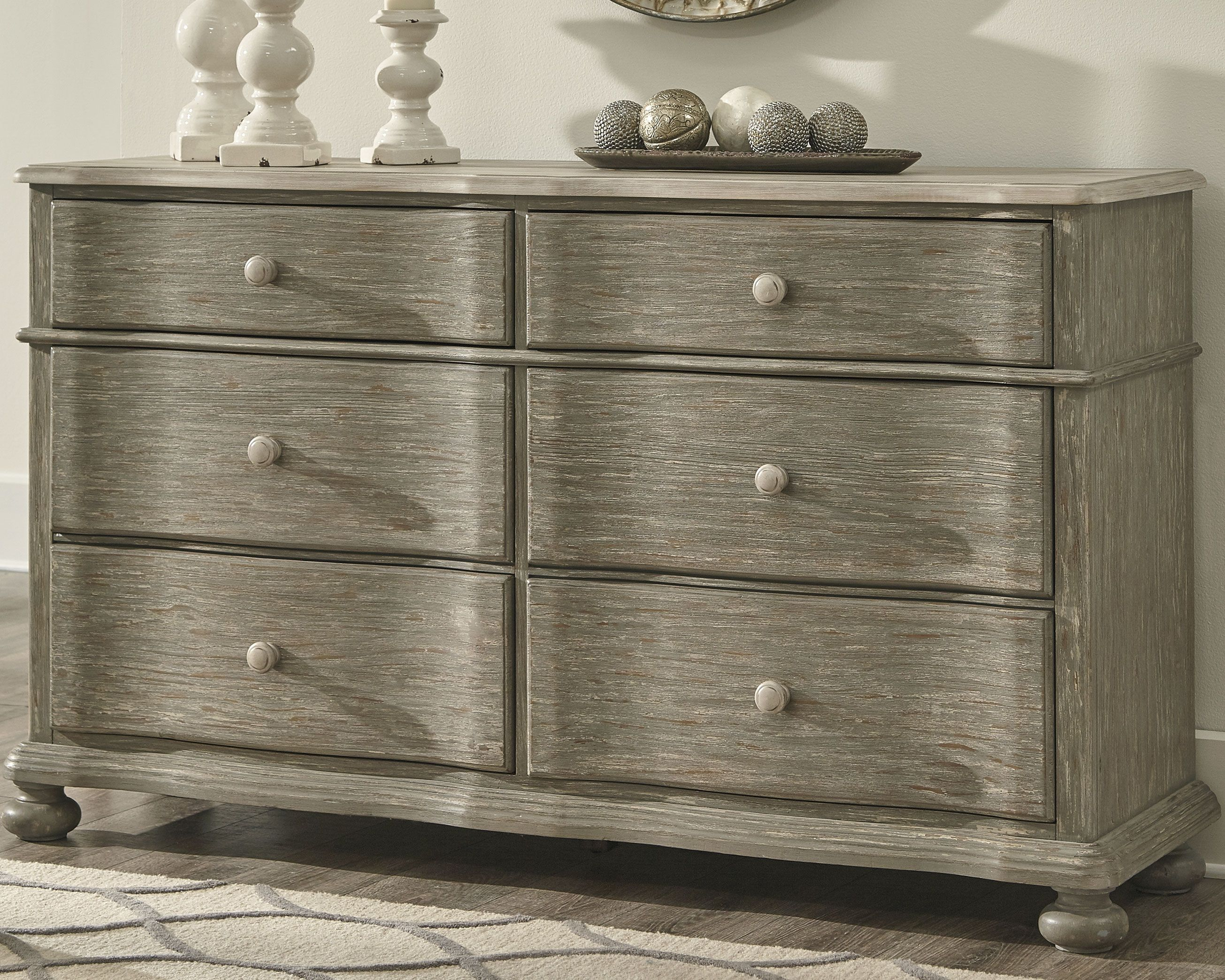 Best Marleny Dresser Gray Whitewash Products Grey Bedroom 640 x 480