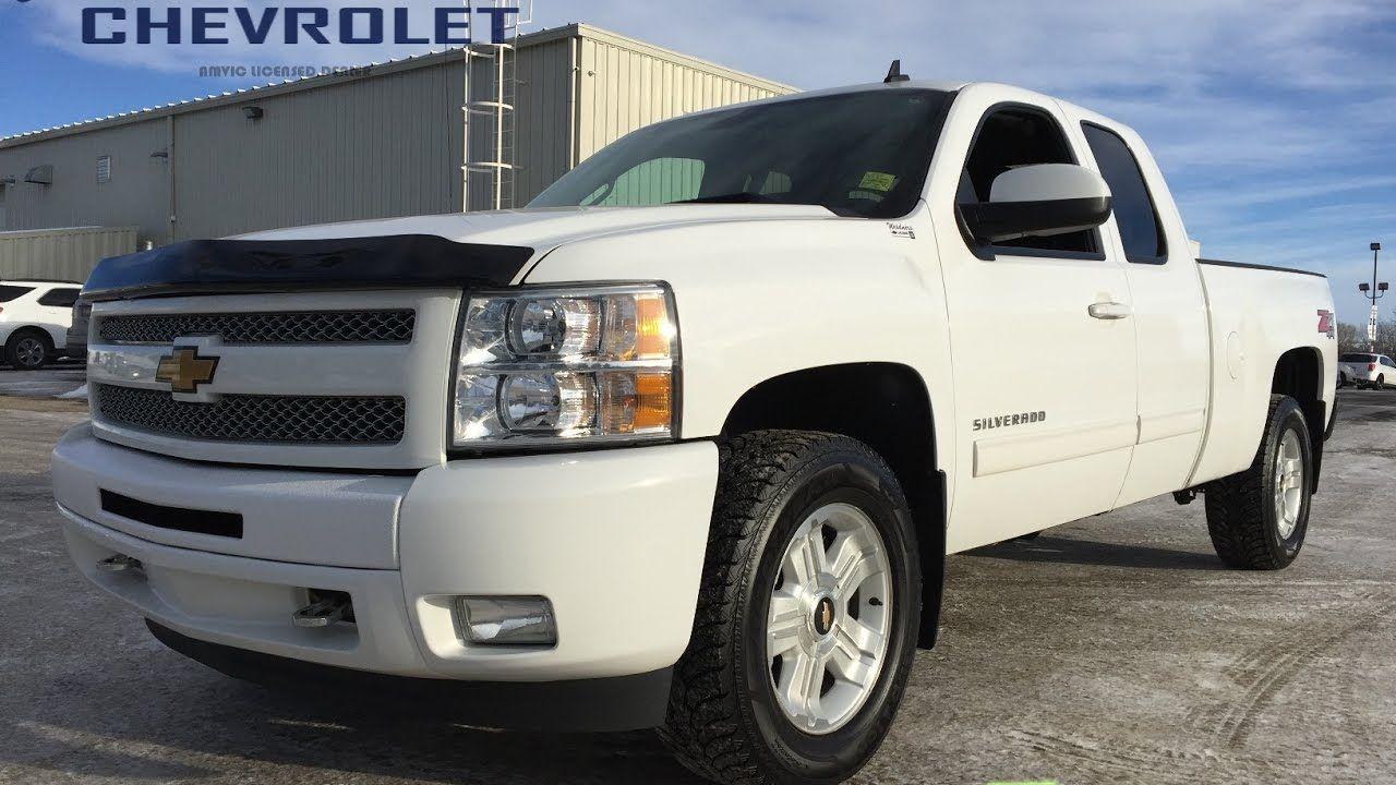 White 2011 Chevrolet Silverado 1500 *USED* / LT 4X4 / 16n216a