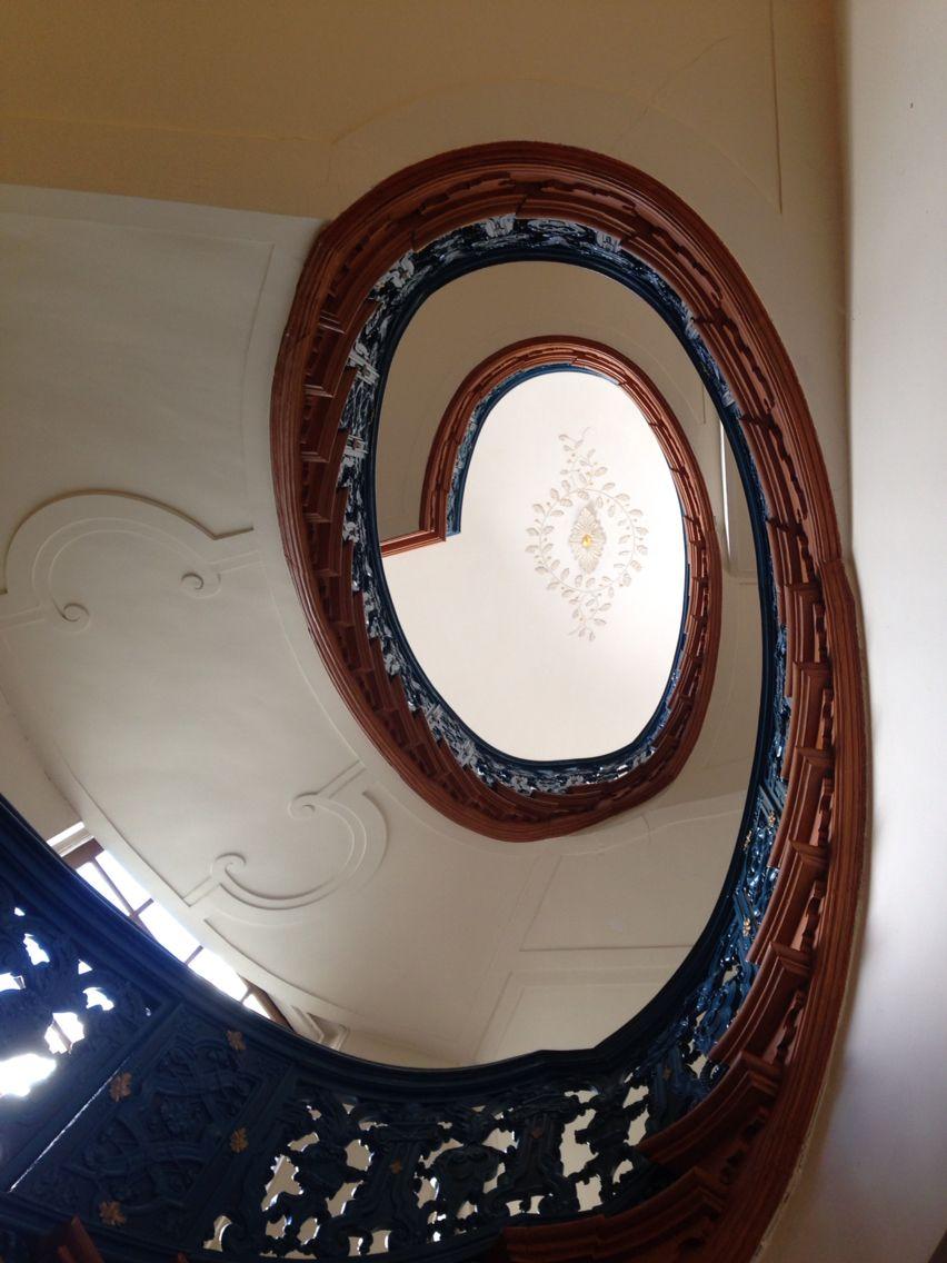 Staircase Bijbels Museum Herengracht Amsterdam. Paul Abspoel