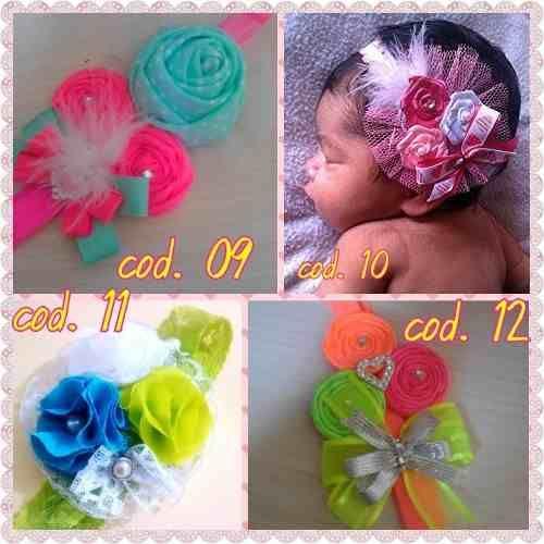 cintillos y tocados para beb y nias lazos Pinterest Para