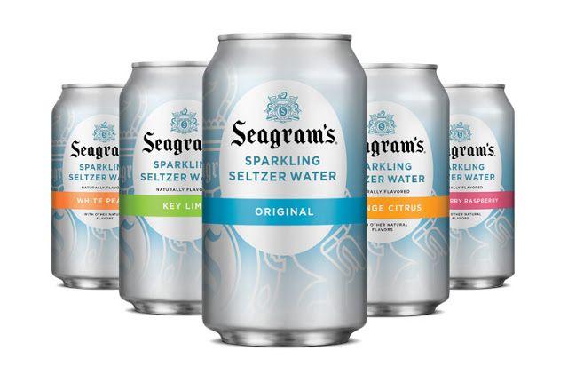 Seagram S Sparkling Packaging Design Beverage Packaging Energy Drinks Packaging