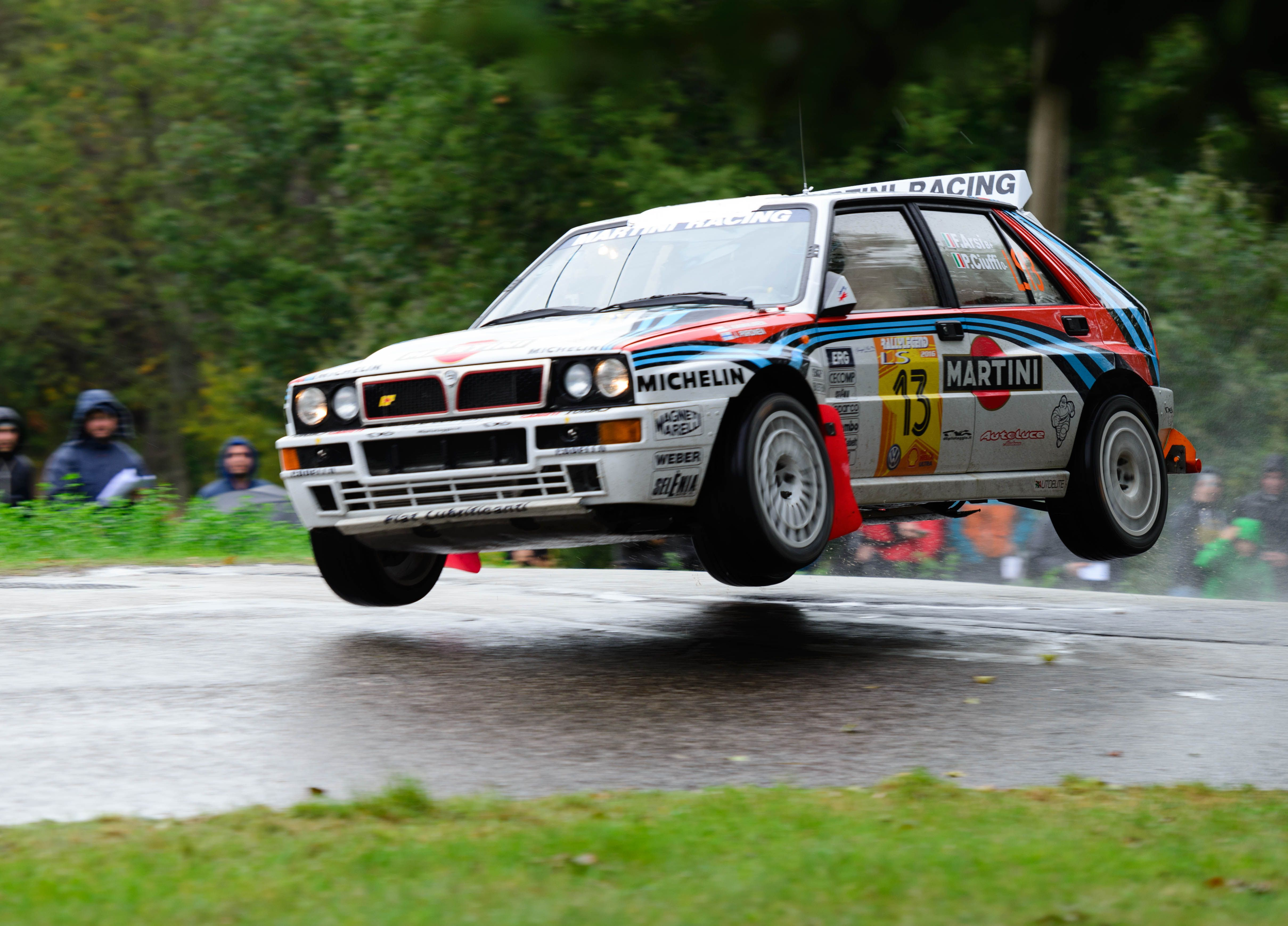 Lancia Delta from my recent trip to Rally Legend in San Marino [OC ...