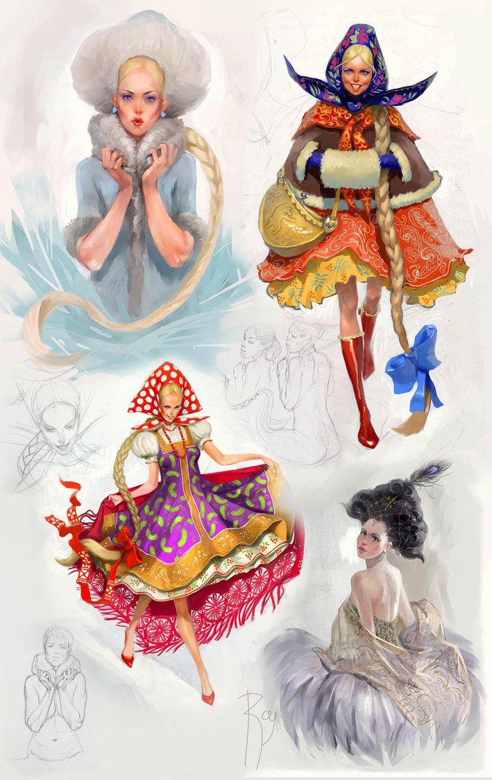 ᐈ Казаки девушки рисунки, фото казак | скачать на Depositphotos® | 1125x709