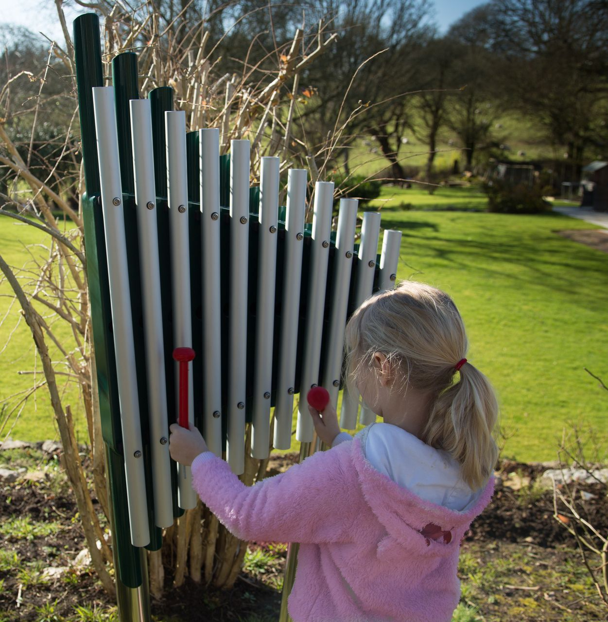 The Cherub Is A Small Outdoor Xylophone With A Big Sound! Our Outdoor  Instruments Are Perfect For Schools, Parks U0026 Sensory Gardens. Buy The  Cherub Today.