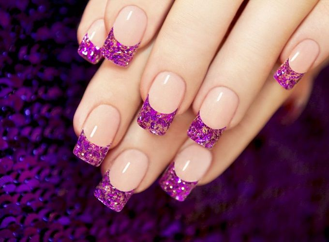 Nail Art Salons In Bangalore Purple Nails Purple Nail Designs Simple Nail Art Designs