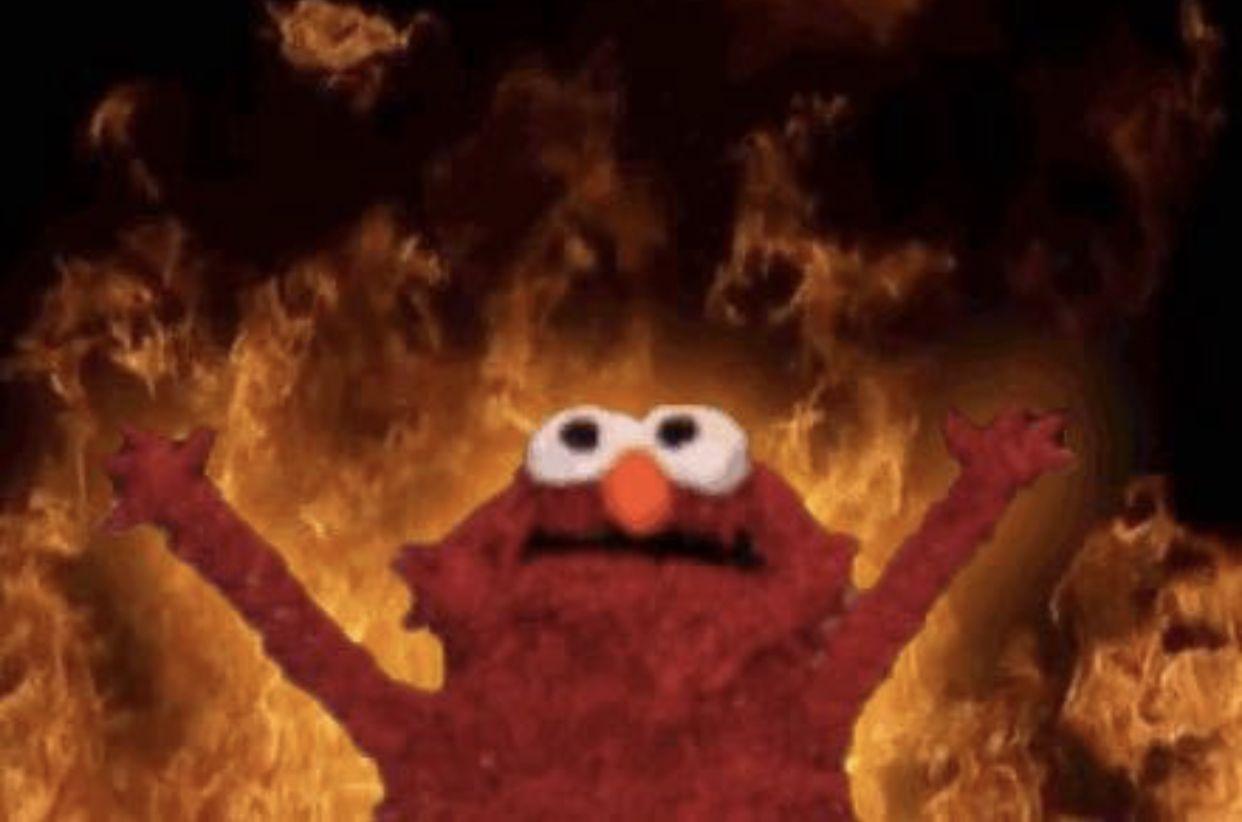 Reaction Memes Mad Reactionmemes Memes Meme Elmo Memes