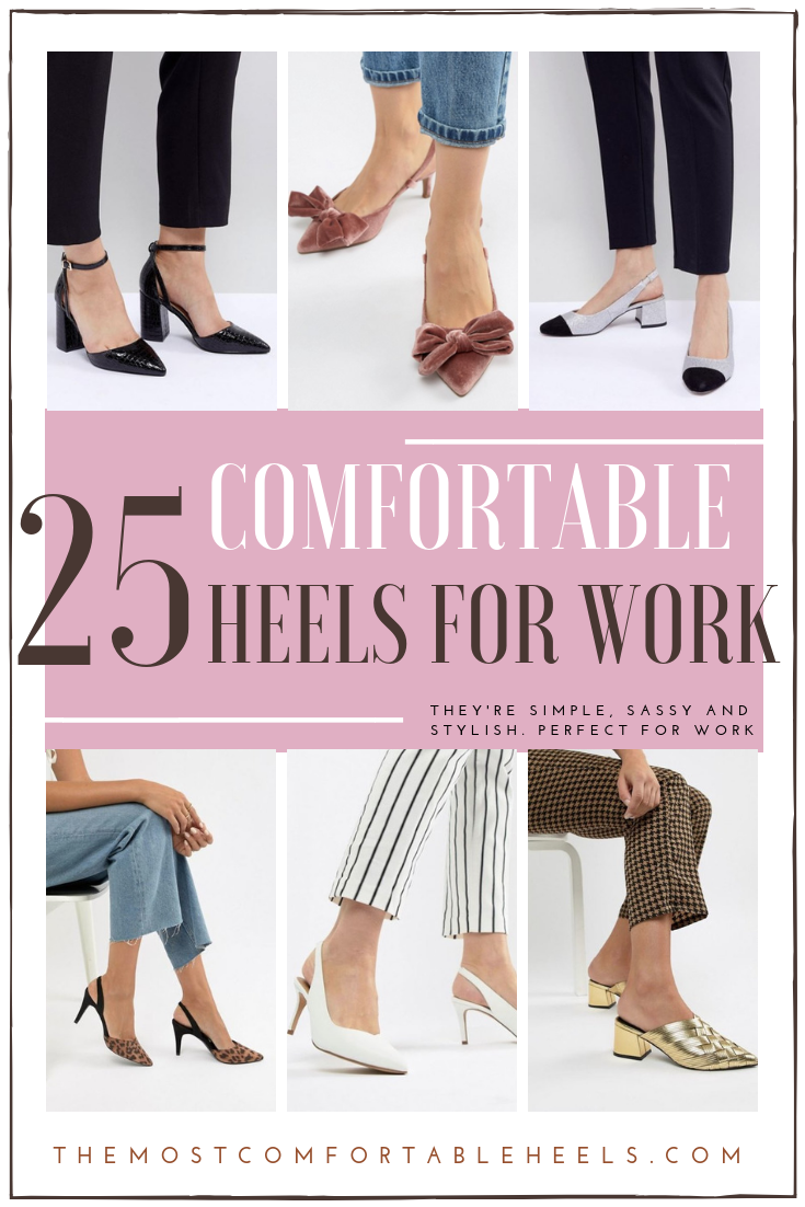 The Most Comfortable Heels