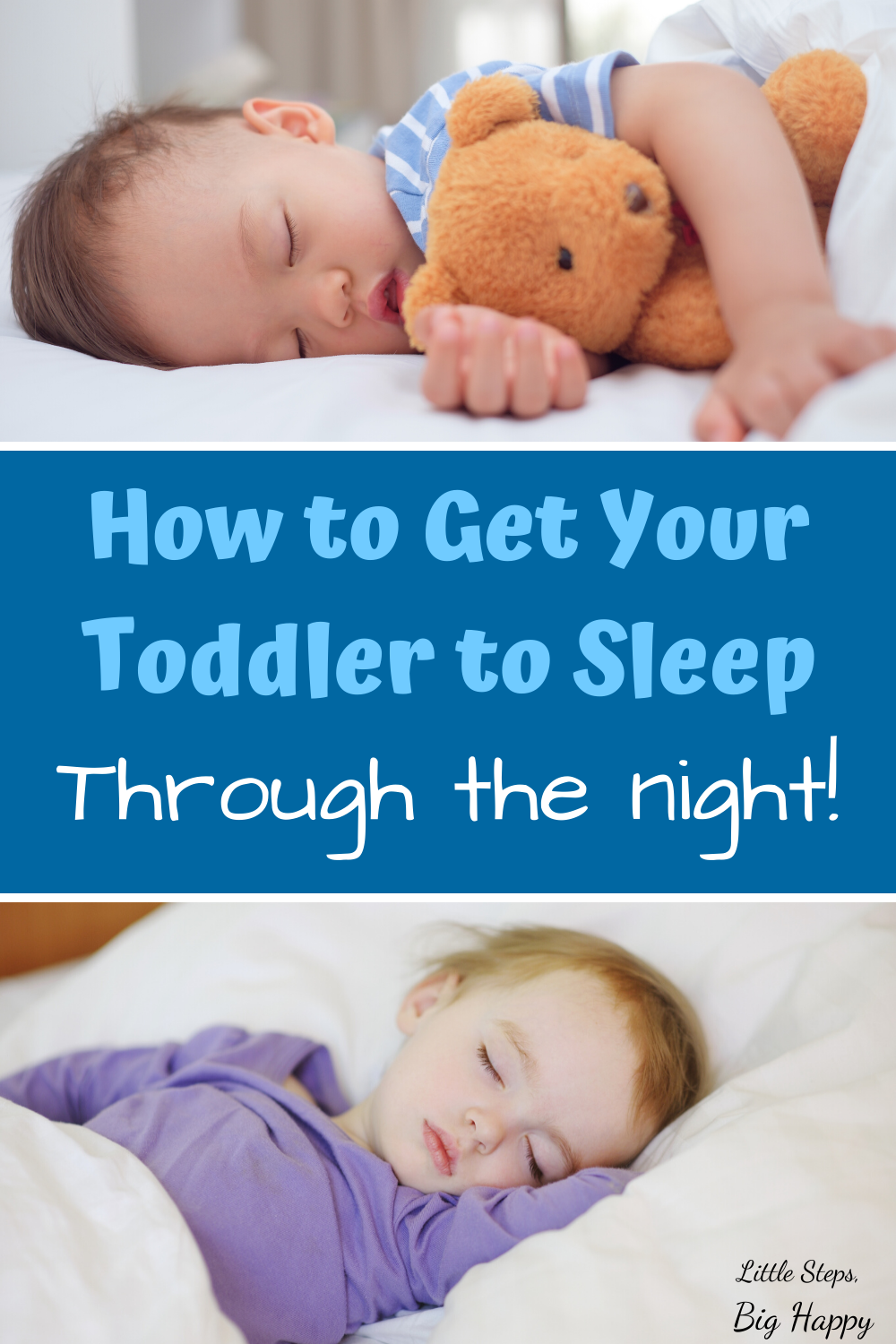 How Do I Get My Toddler To Sleep All Night