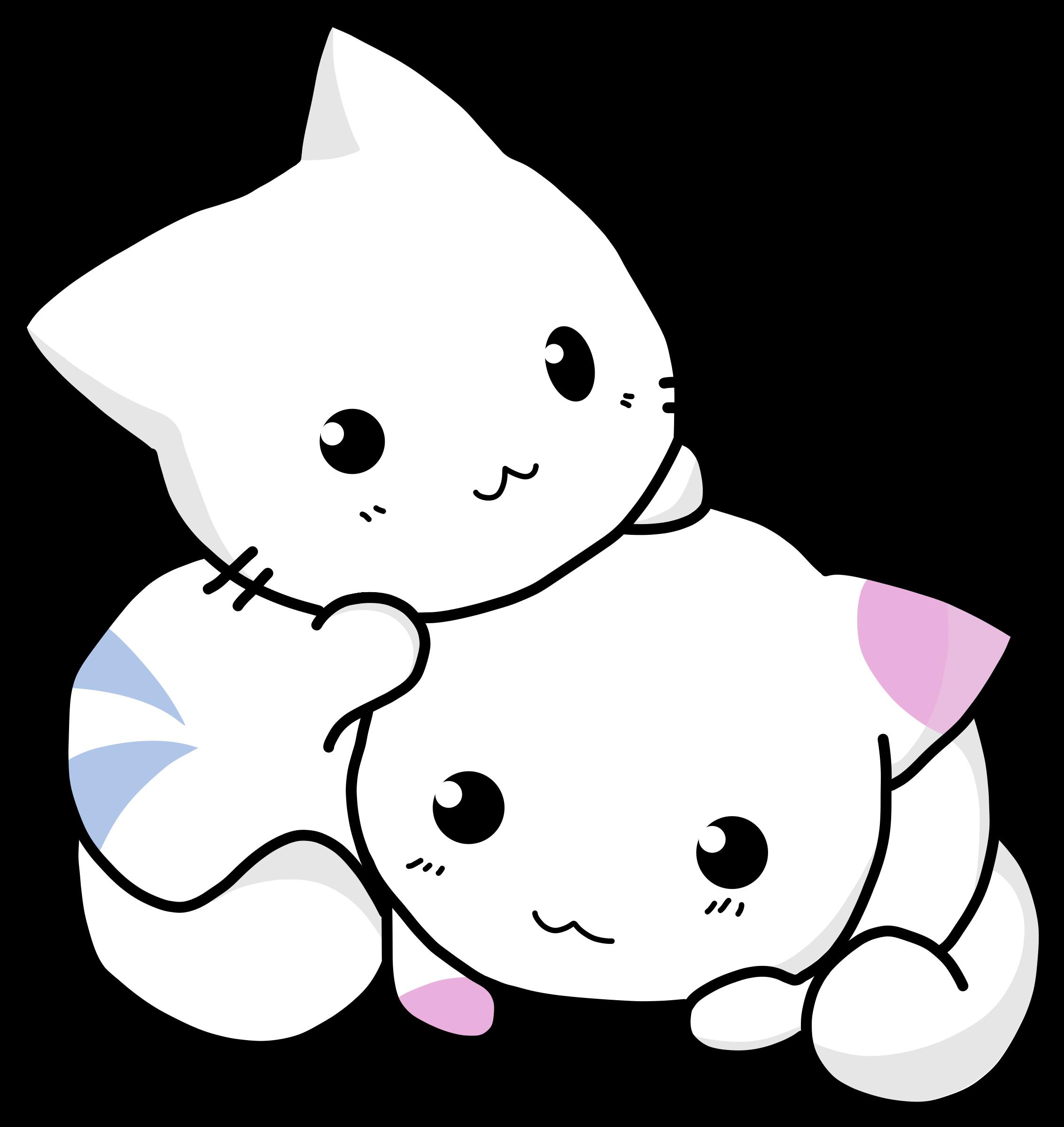 Clipart Cuty Cats Cute Anime Cat Anime Kitten Kitten Drawing