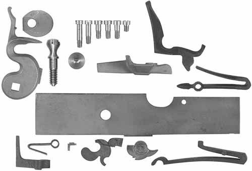 Gunmakers flintlock kit is a Siler flint kit, with an