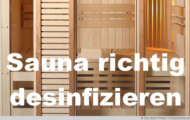Sauna Richtig Desinfizieren Viele Menschen Traumen Von Einer