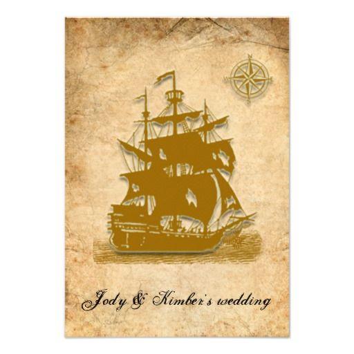 Piraten-Schiff save the date