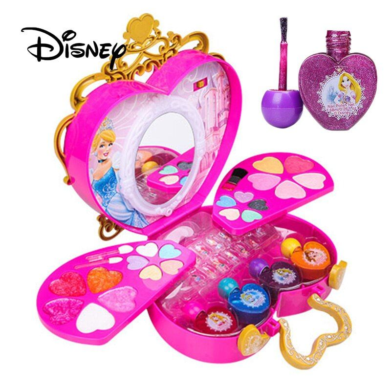 Limited Offer Disney Children Make Up Toy Set Pretend Play Princess Party Makeup Beauty Kit Toy Fo In 2020 Beauty Kit Party Makeup Makeup Brush Set Best