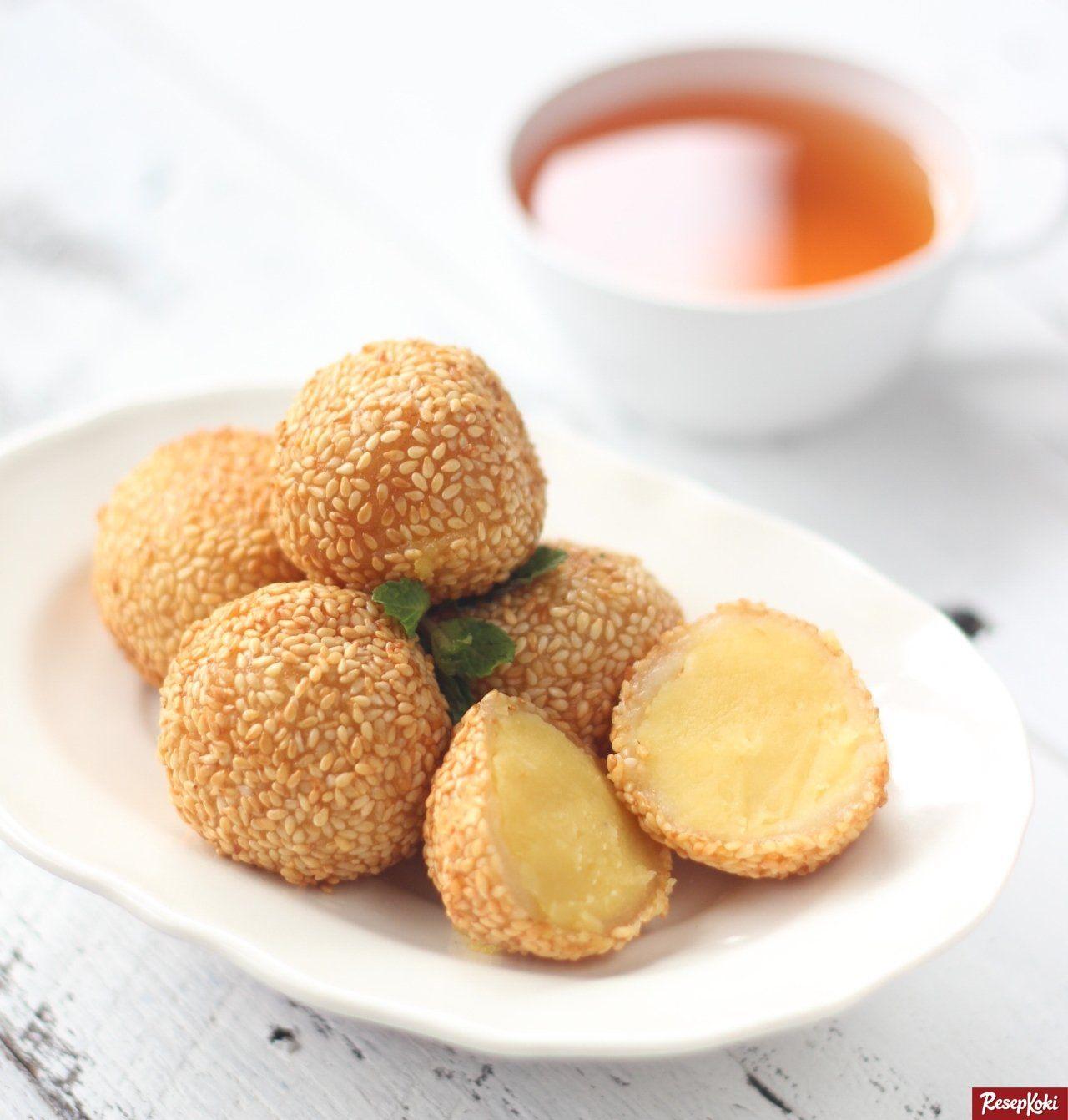 Onde Onde Mekar Bulat Sempurna Dan Simpel Resep Resepkoki Resep Di 2020 Resep Makanan Resep Masakan Resep