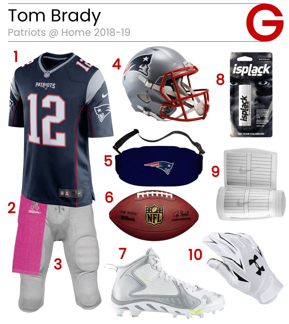 Tom Brady Patriots Home Game Gear Tom Brady Patriots Tom Brady Football Pants