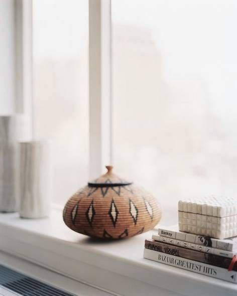 Find New Windowsill Decoration Ideas For Spring And Summer. Domino Shares  Ideas For Decorating Your Windowsill Area With Cacti, Plants, Books, And  Art.