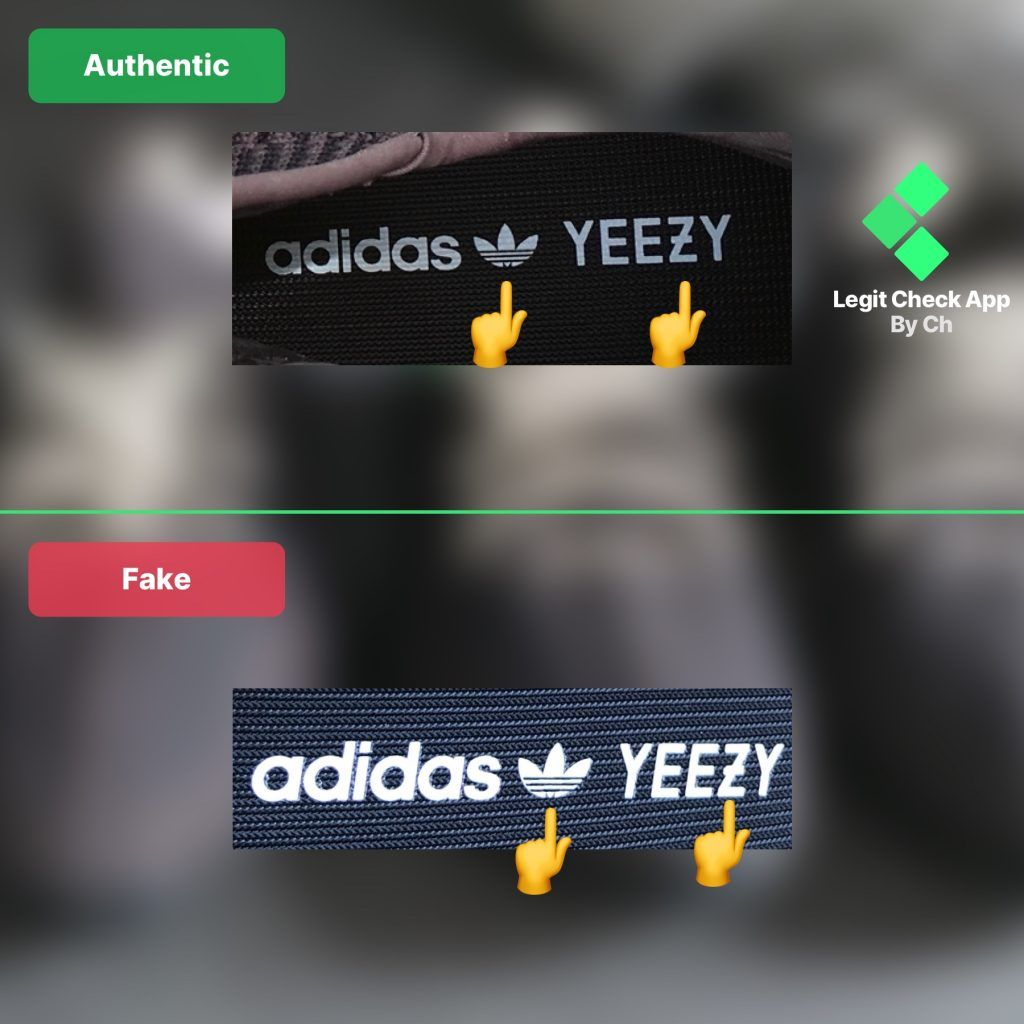 Fake vs real yeezy boost 350 v2 black reflective and non