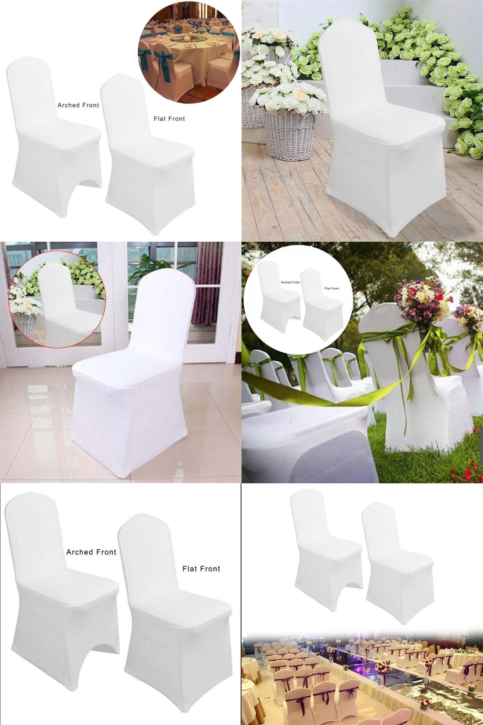 Visit to Buy Flat Chair Cover Elastic Spandex Chair Covers