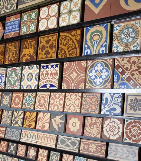 Craven Dunnill Jackfield Encaustic Floor Tiles