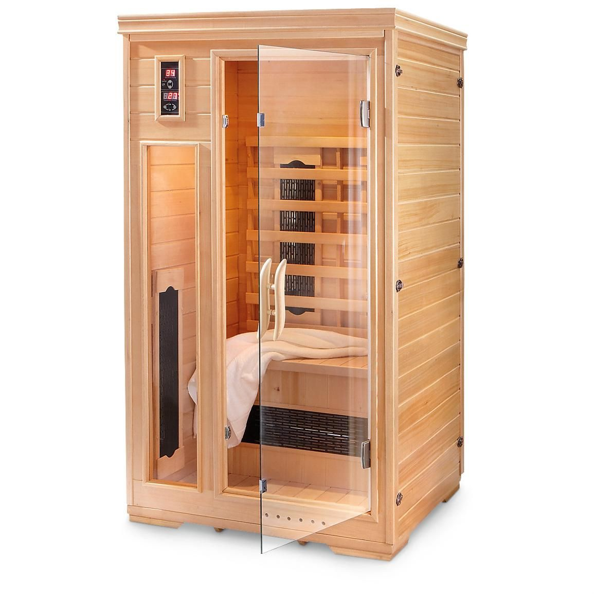 2 person infrared sauna is your own personal relaxing for Sauna home