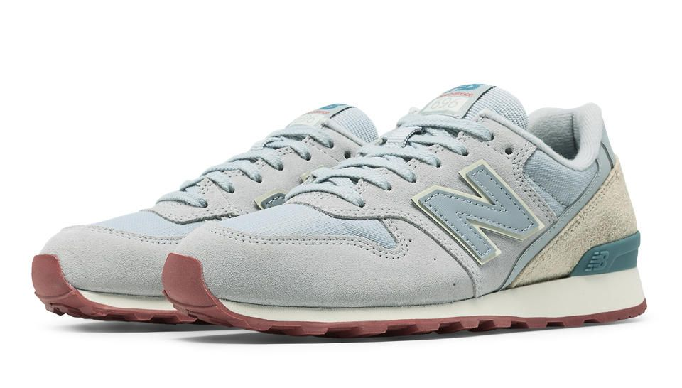 New Balance 696 Sport Grey Women's Lifestyle Shoes