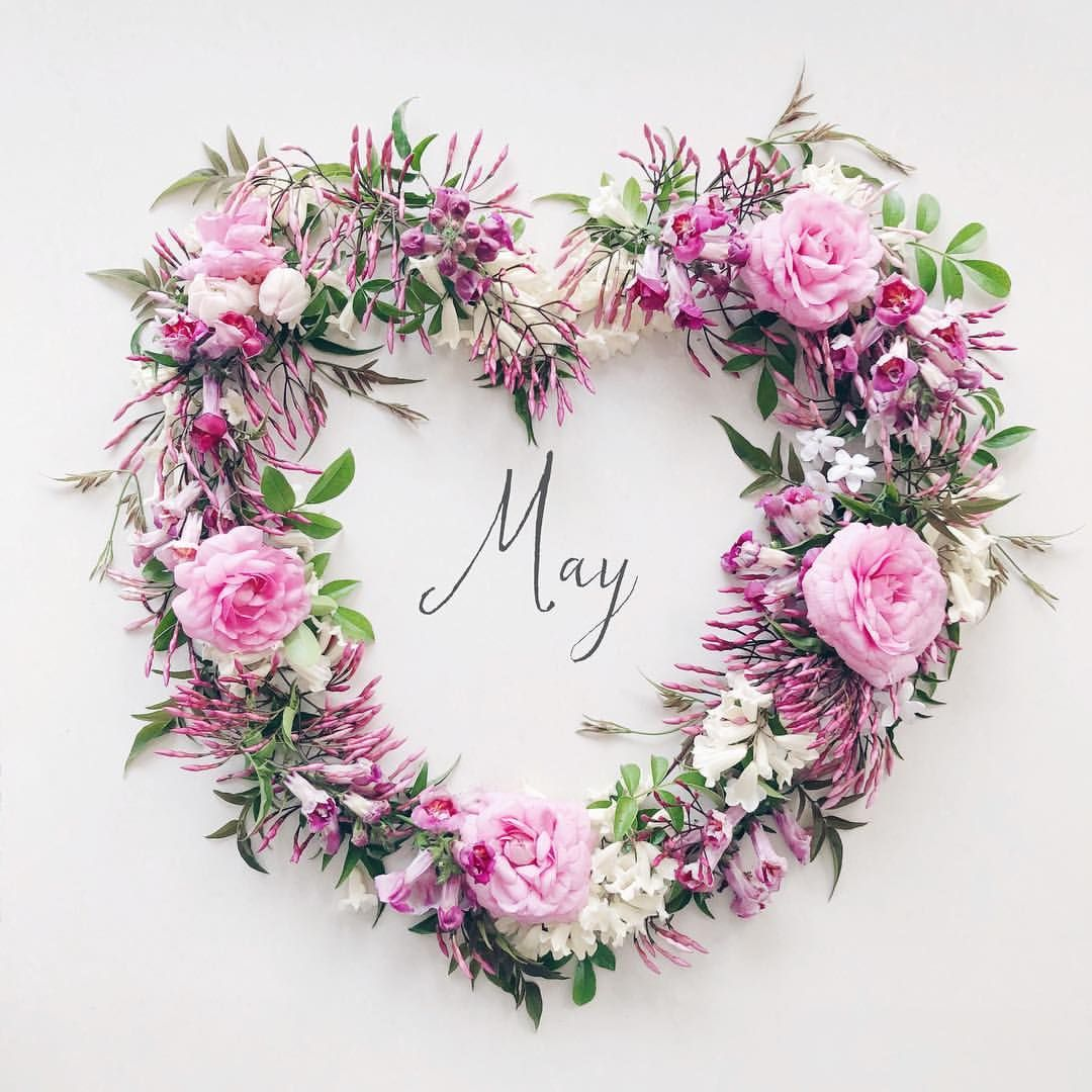 May 1 2019 ・ ・ ・ Hello May🌿👋 ・ All flowers from my little