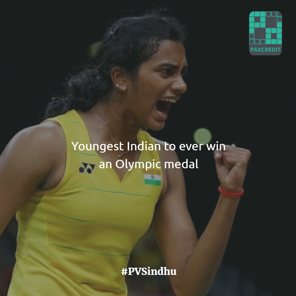 Pusarla Venkata Sindhu became the first Indian woman to win an