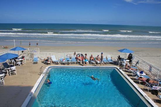 Pool Area Picture Of Georgian Inn Beach Club Ormond