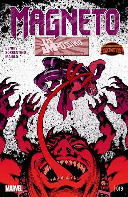 SAM-COMICS: Magneto V3 19 - Guerras Secretas (2015)