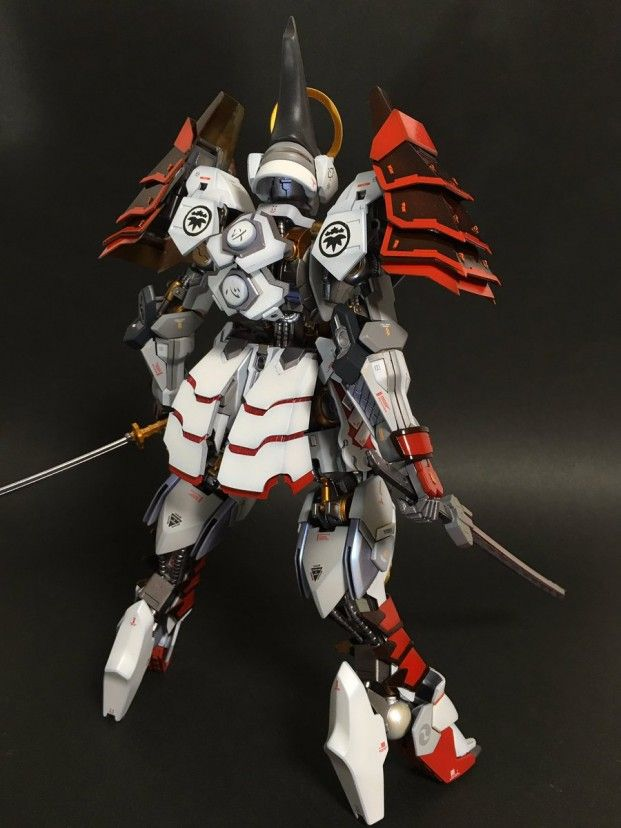 POINTNET.COM.HK - 改裝作品 1/100 Gundam Barbatos 義経