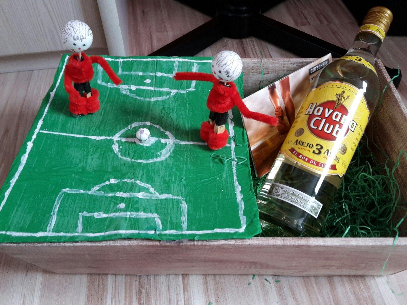 Geburtstagsgeschenk Fußball
