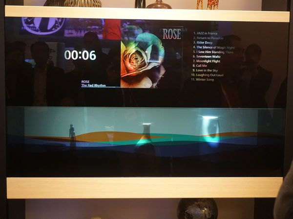 Panasonic Transpa Tv See Through
