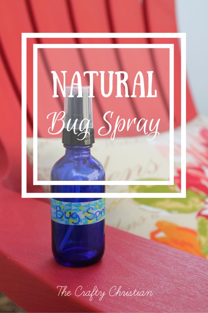 Natural Bug Spray {Recipe} The Crafty Christian