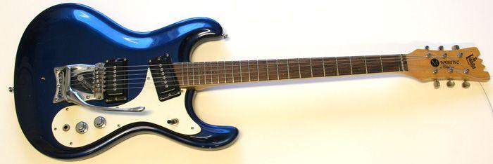 Mosrite Ventures Guitar, 1965 Ink Blue, Lovely