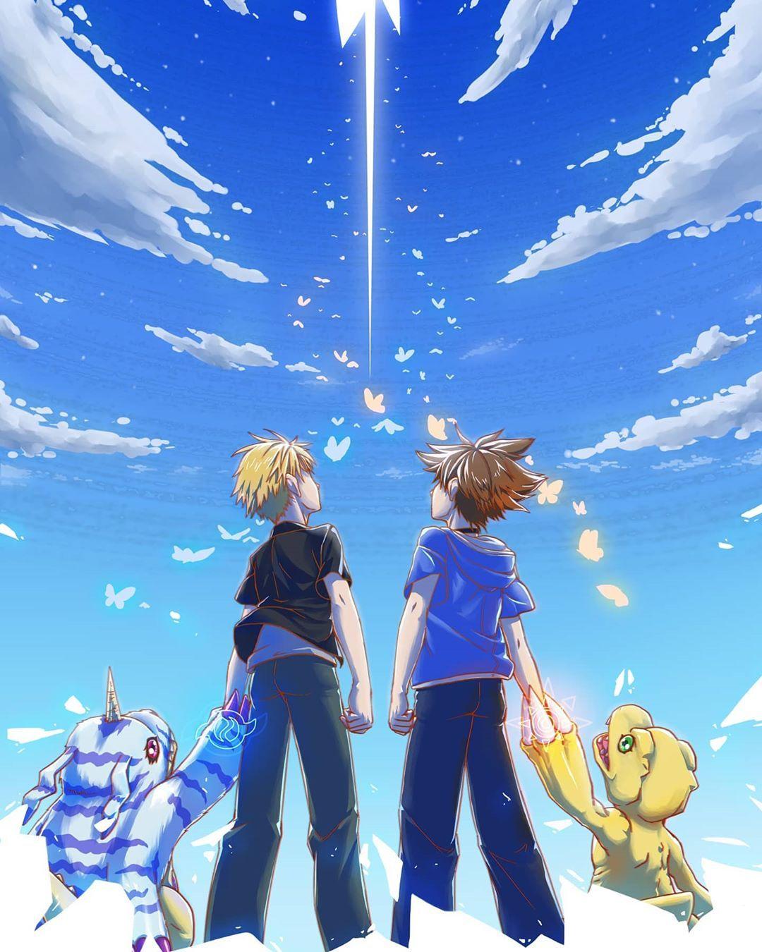 1 917 Me Gusta 0 Comentarios リムル テンペスト Rimuru Tempest En Instagram これが 俺だじの 最後の進化だ 幻夜 D In Digimon Adventure Digimon Adventure Tri Digimon Wallpaper
