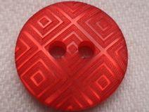 12 kleine Knöpfe rot 15mm (1187)Blusenknöpfe Knopf