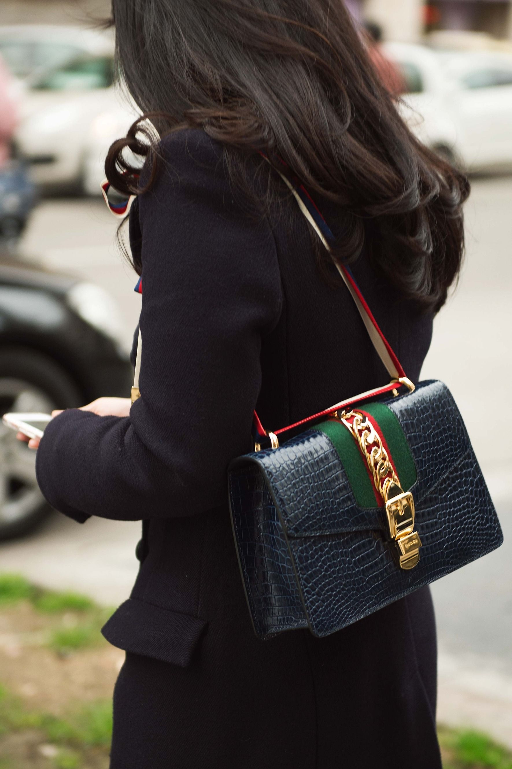 See All the Best Street Style from Milan Fashion Week   Bags   Gucci ... eedc65cc9d5