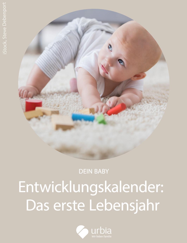 Entwicklungskalender Baby