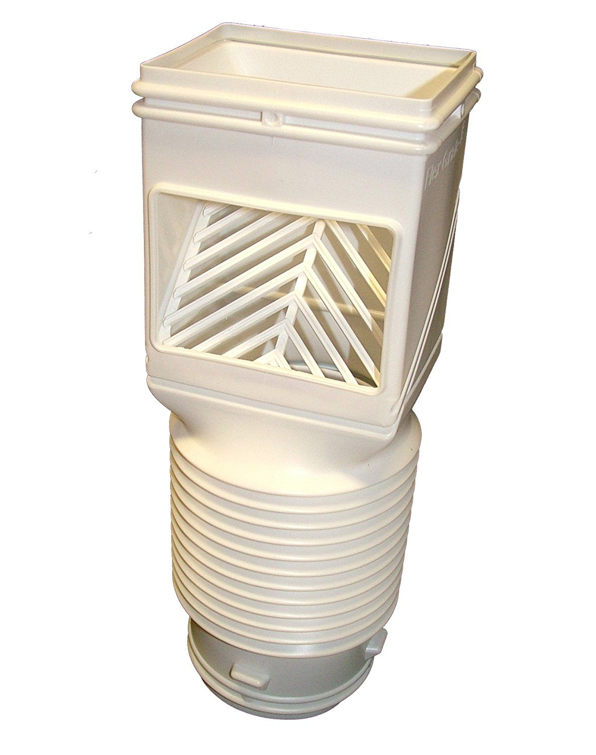 Invisaflow 4490 Downspout Filter White Check This Awesome Product By Going To The Link At The Image Downspout Drain Pipes Rainwater Harvesting System
