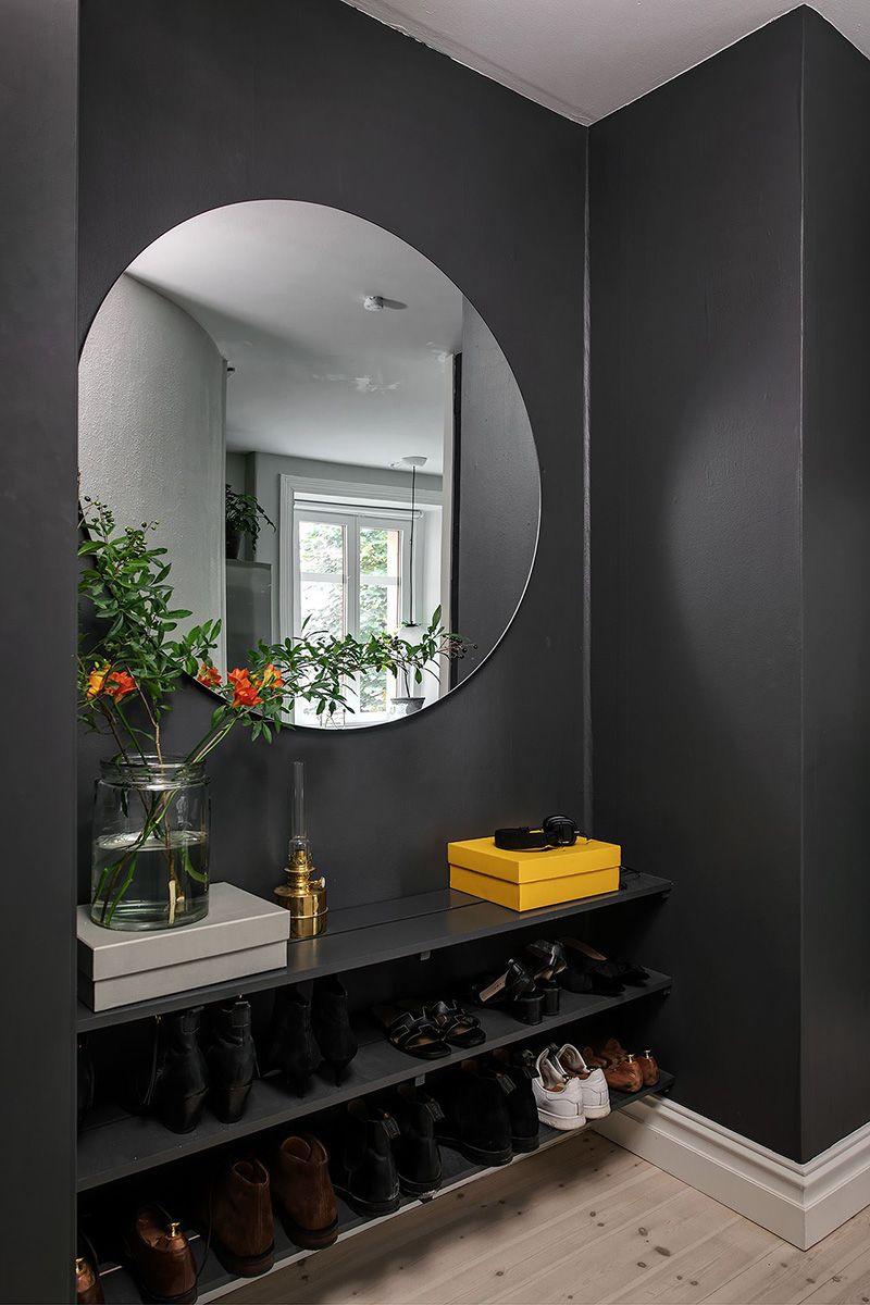 Nice Swedish Apartment With Warm Decor 56 Sqm Foto Idei Dizajn In 2020 Apartment Interior Warm Decor House Design
