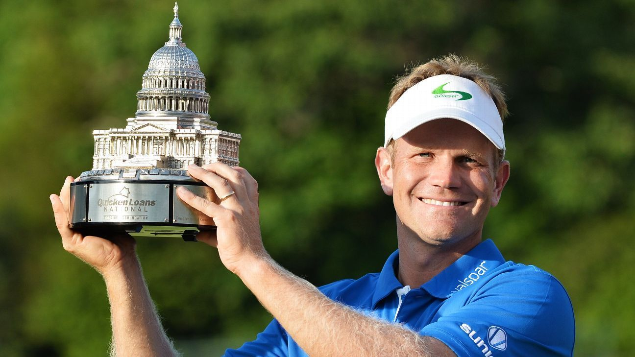 Navy Grad Hurley Wins First Pga Tour Event Tours Naval Academy