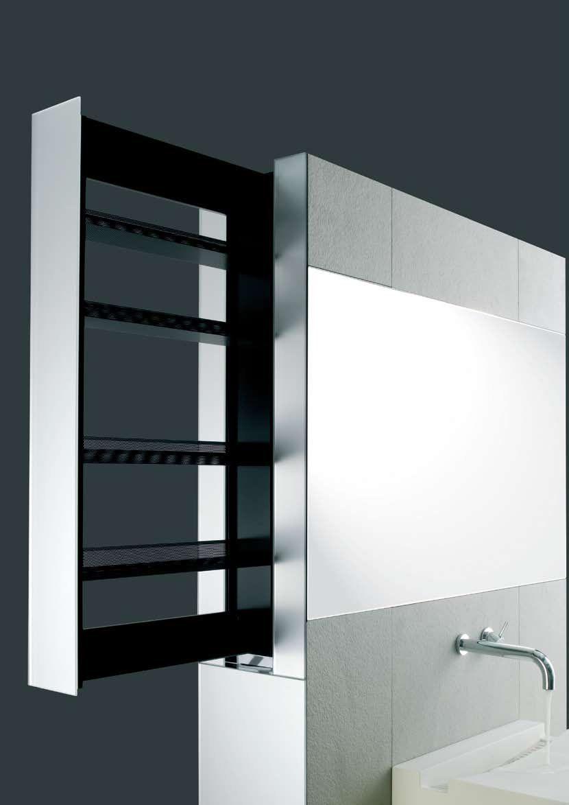 Sliding Bathroom Storage Unit Hidden In A Wall – Crab By Omvivo ...