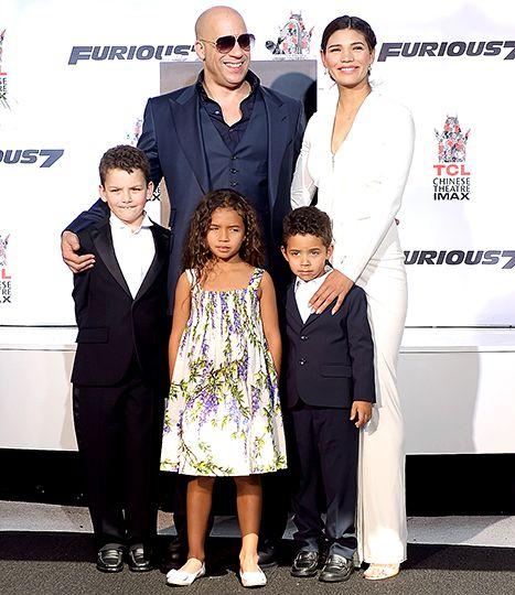 images Vin Diesel Family cute pics vin diesel brings family to